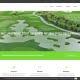 Bottega Design Referenz Illustration Webscreen von Golfhimmel
