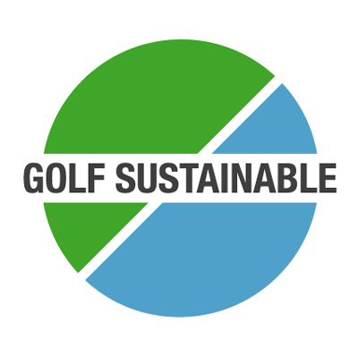 Bottega Design Referenz Illustration Logo für Golfsustainable