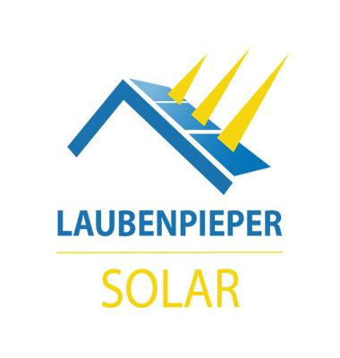 Bottega Design Referenz Illustration Logo für Laubenpieper Solar