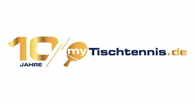 Bottega Design Referenz Illustration Logo 10 Jahre in Gold für myTischtennis.de