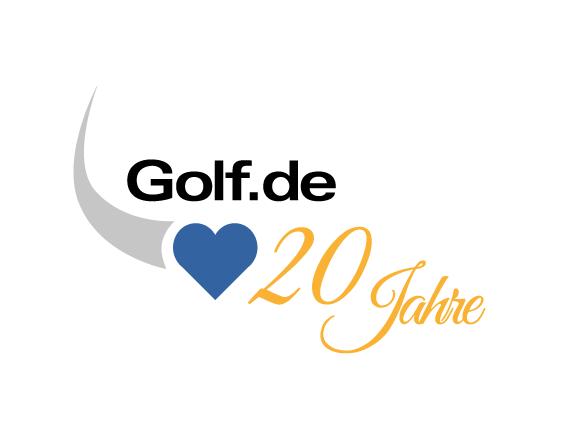 Bottega Design Referenz 20-Jahre-Logo Golf.de Jubiläum