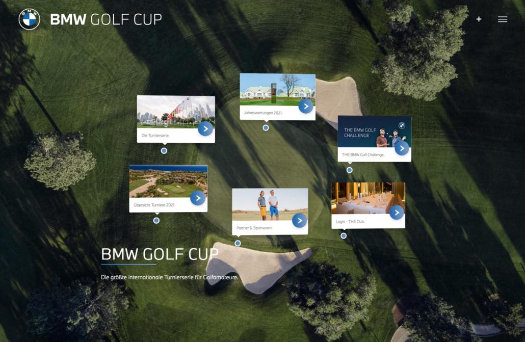 Bottega Design Referenz BMW GOLF CUP
